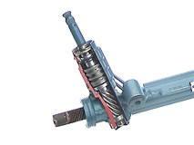 принцип работы рулевой рейки с гидроусилителем
